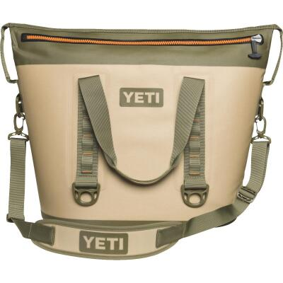 Yeti Hopper Two 40 Tan Soft-Side Cooler (34-Can)