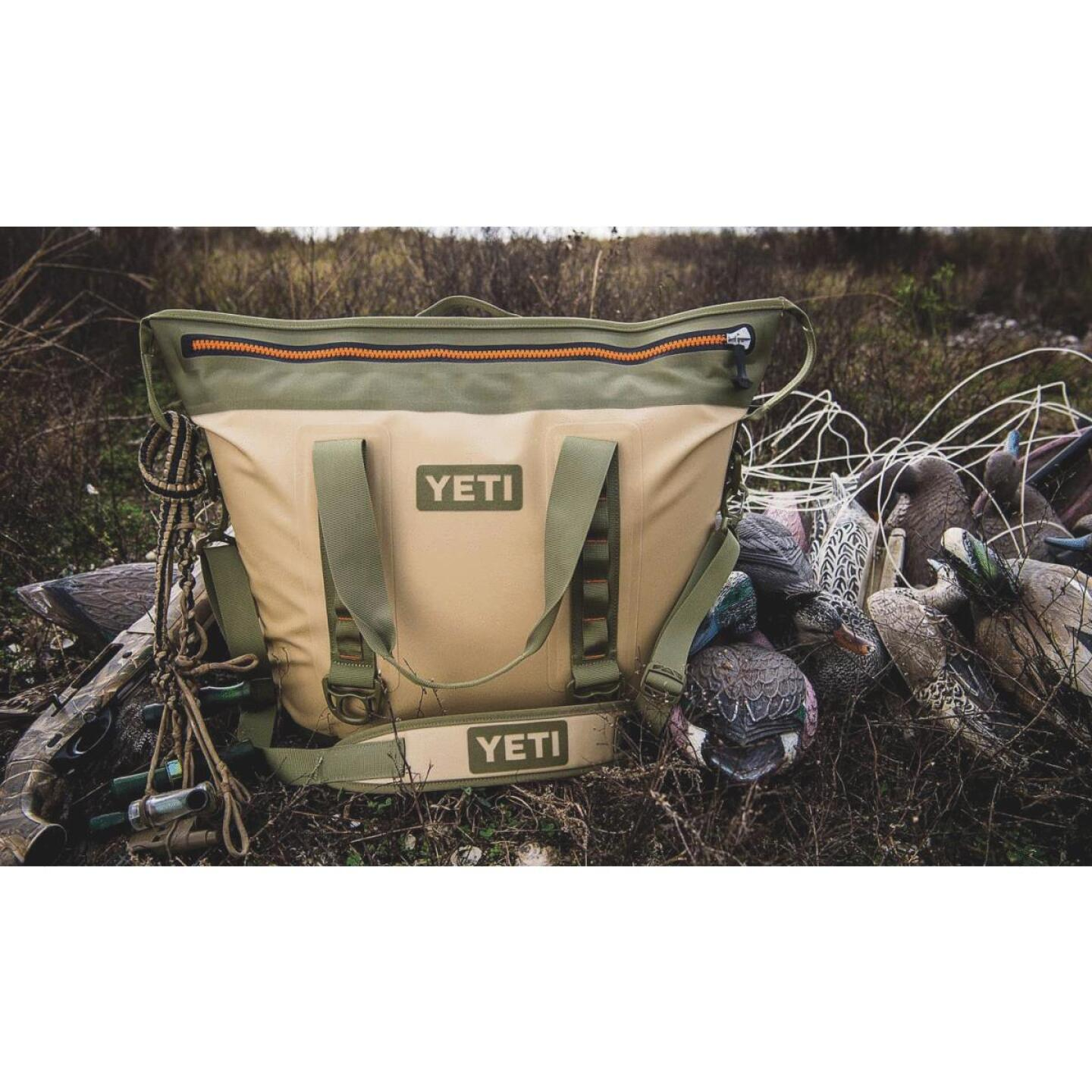 Yeti Hopper Two 34-Can Soft-Side Cooler, Tan Image 2
