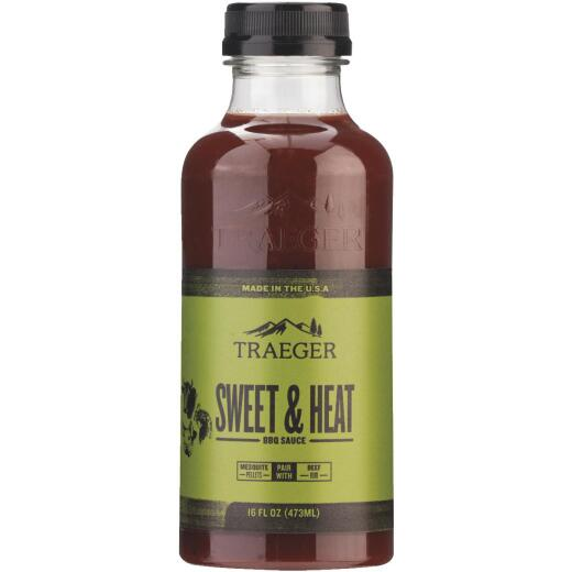 Traeger 16 Oz. Molasses & Apricot Flavor Beef, Poultry & Pork Sweet & Heat Barbeque Sauce