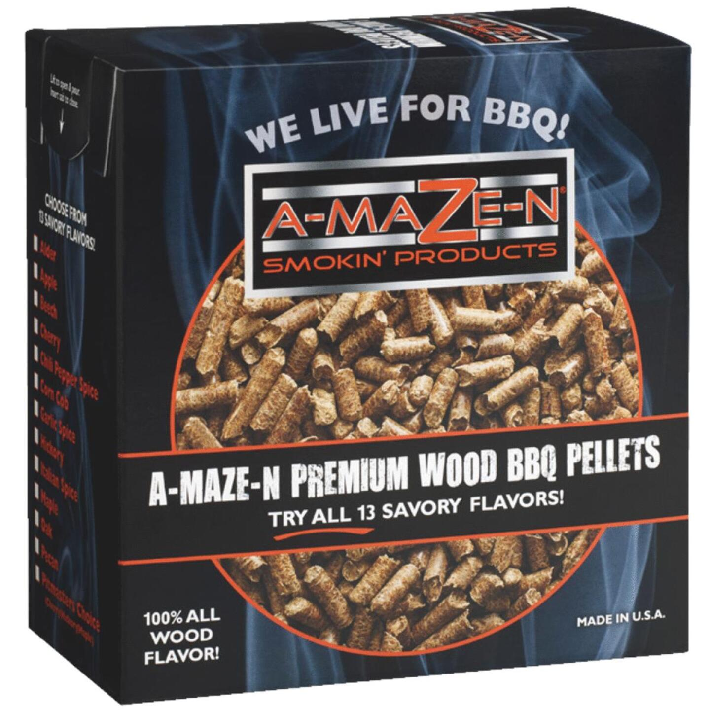 A-Maze-N 2 Lb. Apple Wood Pellet Image 1