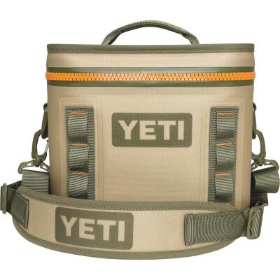 Yeti Hopper Flip 8, 8-Can Soft-Side Cooler, Tan