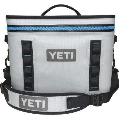 Yeti Hopper Flip 18, 20-Can Soft-Side Cooler, Gray