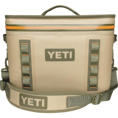 Yeti Hopper Flip 18, 20-Can Soft-Side Cooler, Tan