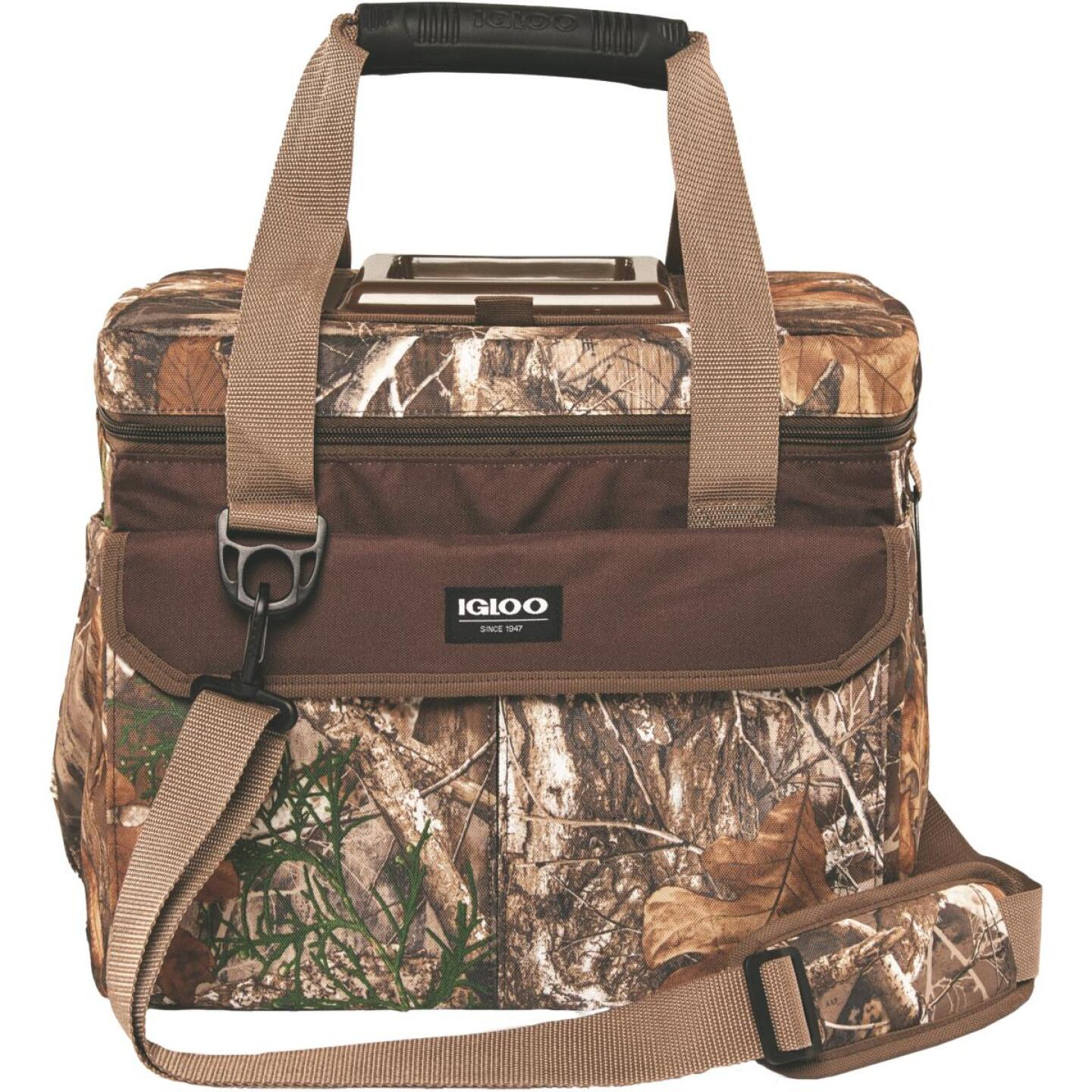 Igloo RealTree MaxCold Outdoorsman 30-Can Soft-Side Cooler, Camouflage Image 1