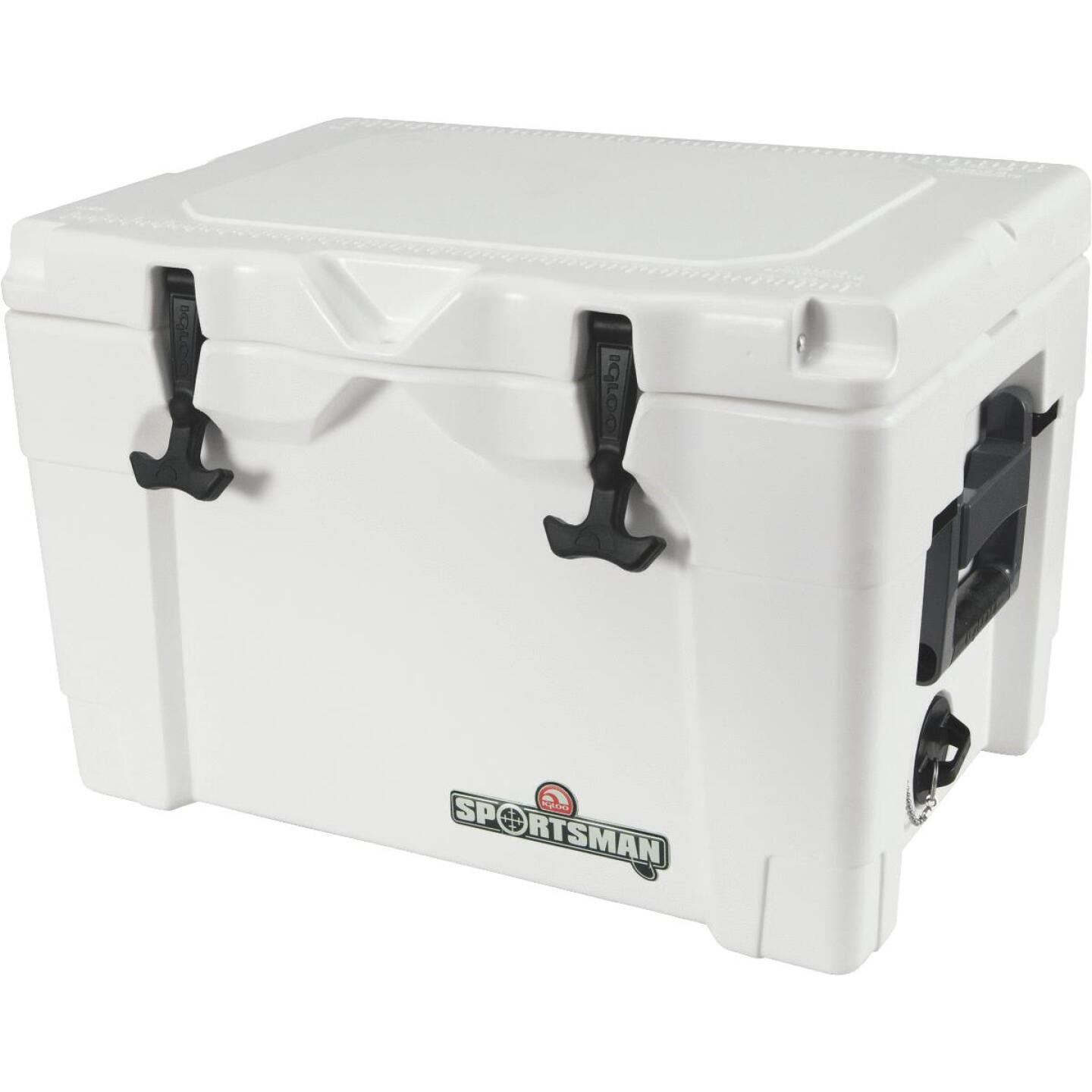 Igloo Sportsman 40 Qt. Rotomold Cooler, White Image 1