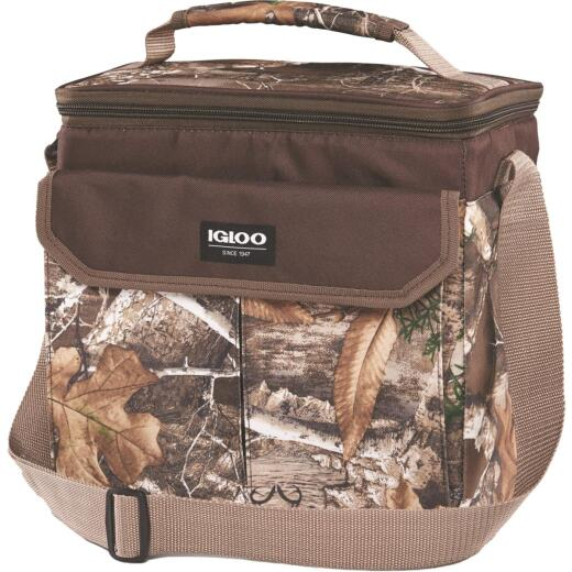 Igloo RealTree MaxCold 12-Can Soft-Side Cooler, Camouflage