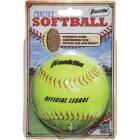 Franklin White Synthetic Softball Image 1
