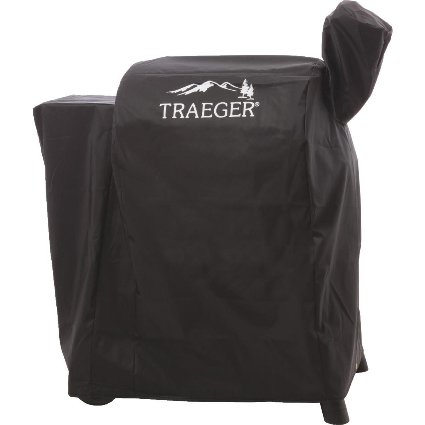 Traeger 22 Series 44 In. Black Polyester Full-Length Grill Cover Image 1