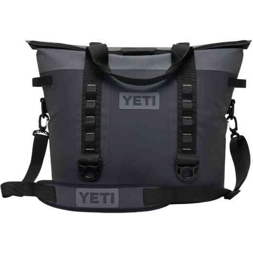 Yeti Hopper M30 20-Can Soft-Side Cooler, Charcoal