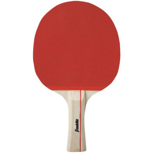Franklin Straight Handle Rubber Face Table Tennis Paddle