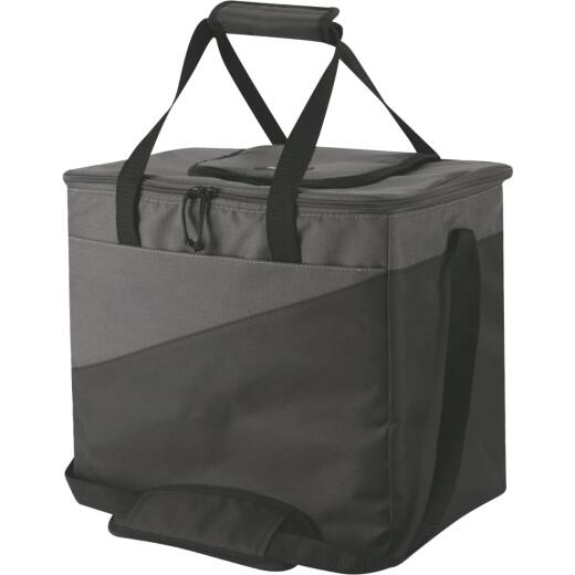 Igloo Collapse & Cool 36-Can Soft-Side Cooler, Gray & Black