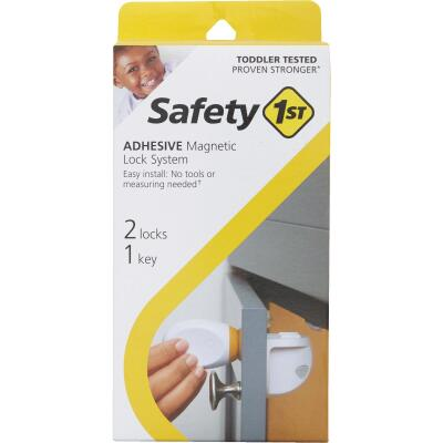 Safety 1st Adhesive Magnetic Lock System (2-Lock Set)