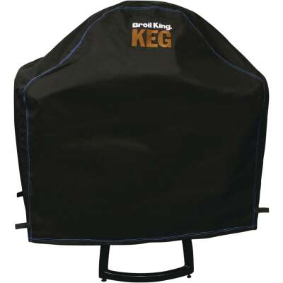 Broil King Keg 5000 45 In. Black PVC/Polyester Grill Cover