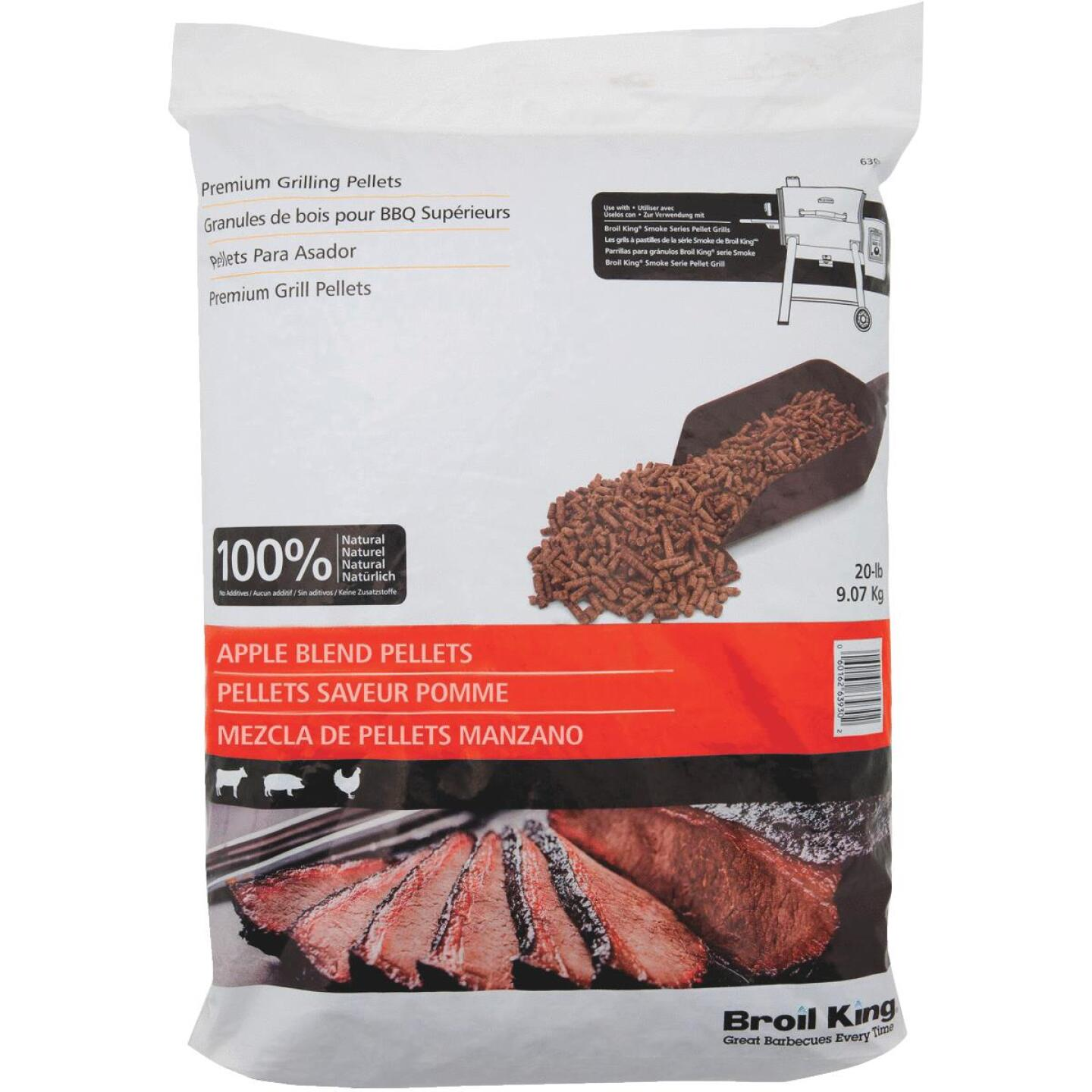 Broil King 20 Lb. Apple Blend Wood Pellets Image 1