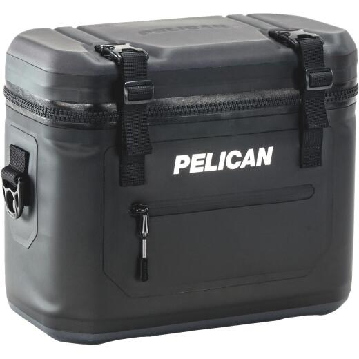 PELICAN Elite 12-Can Soft-Side Cooler, Black