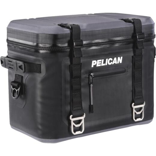PELICAN Elite 24-Can Soft-Side Cooler, Black