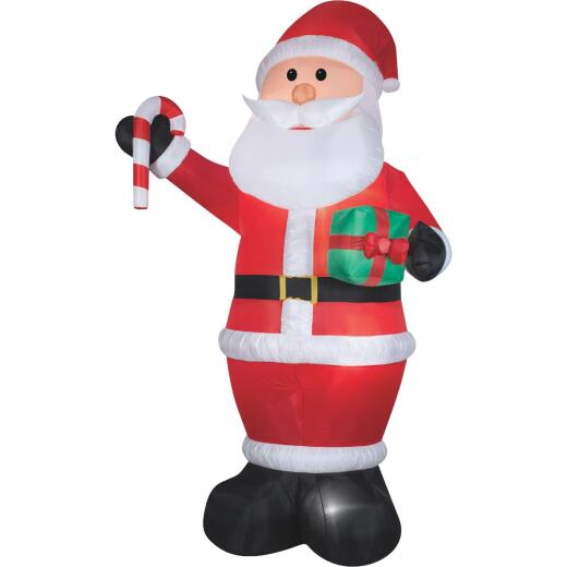 Gemmy 6-1/2 Ft. W. x 12 Ft. H. Airblown Inflatable Santa