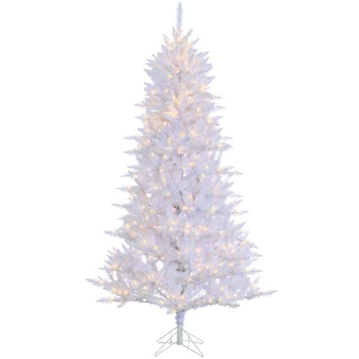 Sterling 7.5 Ft. Atlantic Cedar 550-Bulb Clear Incandescent Prelit Artificial Christmas Tree
