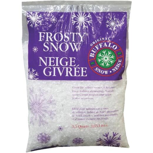 Buffalo Snow Synthetic 3.5 Qt. Artificial Snow Flakes
