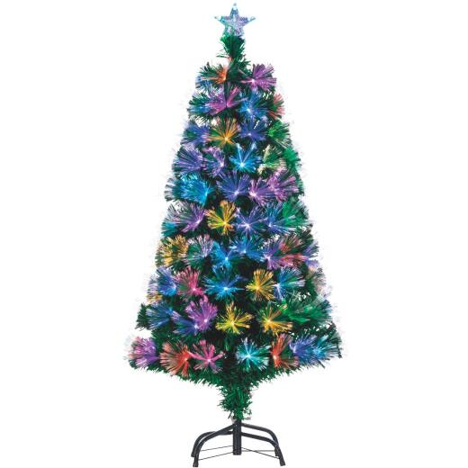 Gerson 4 Ft. Fiber Optic LED Christmas Tree